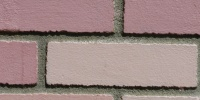 wall rectangular retro architectural   brick pink