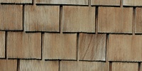 tan/beige wood architectural weathered rectangular roof