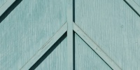 blue paint wood architectural bleached weathered angled fence