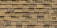 roof rectangular pattern architectural asphalt stone dark brown