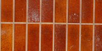 wall rectangular architectural tile/ceramic red