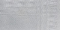 rectangular art/design fabric white