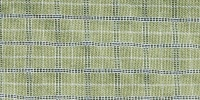 rectangular   wrinkled industrial fabric multicolored green