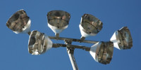 fixture sports/rec mech/elec industrial metal   gray blue