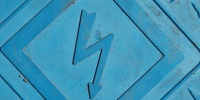 floor symbol diamonds dirty mech/elec industrial rubber blue