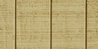 fence vertical plywood grooved architectural wood paint yellow
