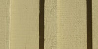 plywood slats fence vertical architectural wood paint yellow